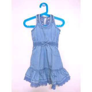 Brand New Denim Mermaid Dress