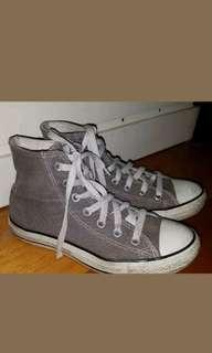Comverse grey high tops size 6Au womens