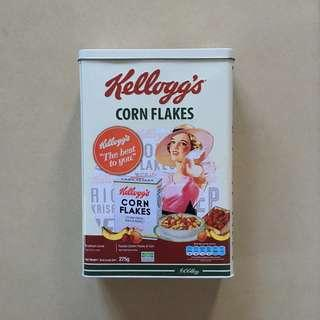 Kellogg's Vintage Cereal Tin Can