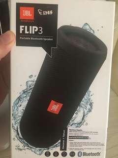 JBL FLIP 3 - bluetooth splashproof BLack color