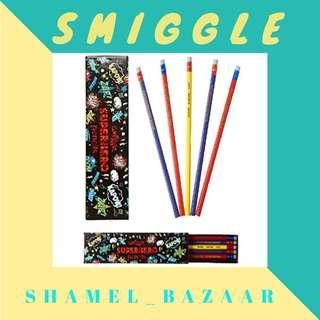SMIGGLE Super Hero Pencil Pack