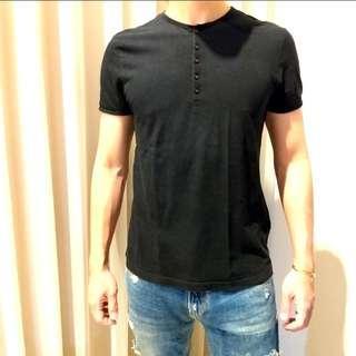 Topman Button Tshirt