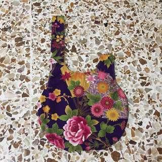 Vintage flower print lunch bag (free mailing!)