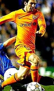 Nike 全新 Brand New With Tag 正版 2006至2007 巴塞隆拿 Barcelona 作客 Away Jersey 球迷版 球衣 西甲 -Size M-  *長袖* 未剪價錢牌
