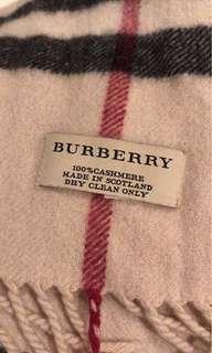 Burberry cashmere shawl