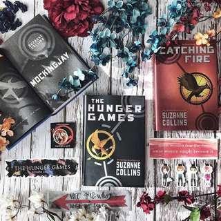 🏹 the hunger games trilogy [hardback + instock]