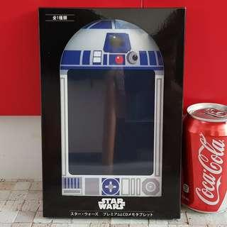 Disney SEGA Star Wars LCD Writing Tablet Pad UFO Catcher Prize from Japan