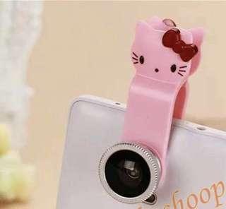 Kamera fisheye super wide lens Hello Kitty