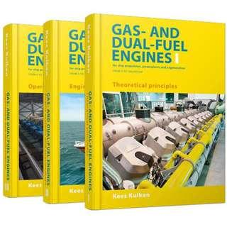 Gas and Dual Fuel Engines for ship propulsion powerplants cogeneration - Kees Kuiken Book
