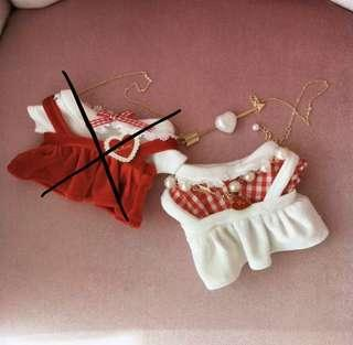 20cm christmas outfit