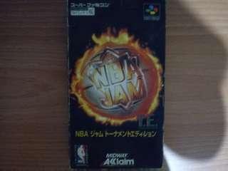 NBA Jam Tournament Edition SNES