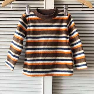 Fisher Price Blue and Brown Sweater
