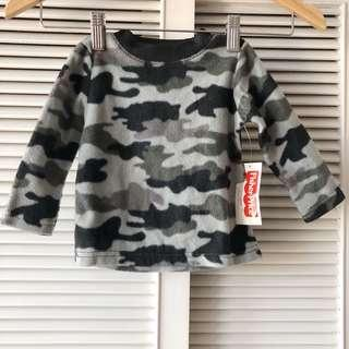 Fisher Price Black Camo Sweater