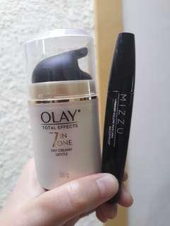 BUNDLING Olay day cream & Mizzu mascara