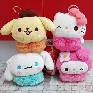 Sanrio Characters with Heart UFO Catcher Prize from Japan