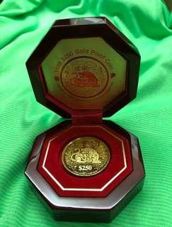1998 Year of Tiger - 999 Gold, Collector's Coin ❤️