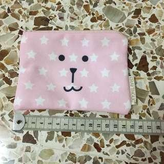Craftholic pink pouch