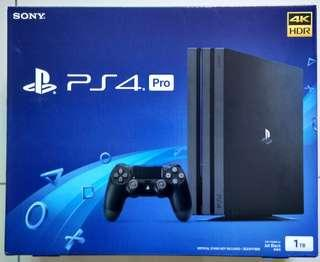 Ps4 Pro 1 TB 2 Year Warranty