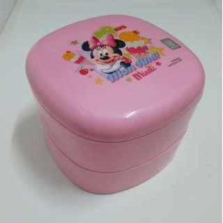 🚚 【親親小舖】全新正品迪士尼 收納盒 便當盒 野餐盒 壽司盒 水果盒