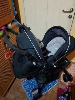Joie stroller + car seat