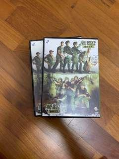 🚚 Ah Boys To Men DVD 1 and 2