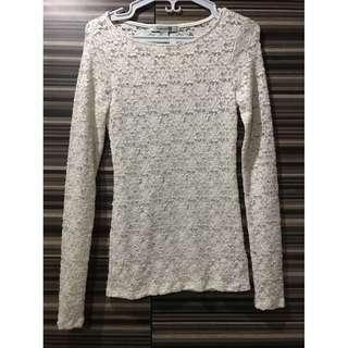 Forever 21 Lace Longsleeves