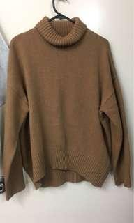 Oversized Turtleneck Knit