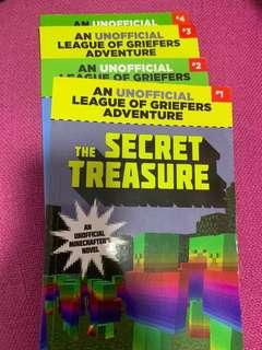 🚚 Minecraft Books Griefers Adventure Series by Winter Morgan