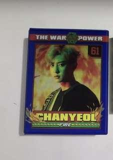 EXO Chanyeol postcard collection book