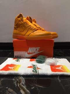 Jordan 1 retro high gatorade orange pe