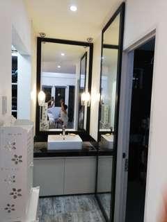 Huge Framed Mirrors