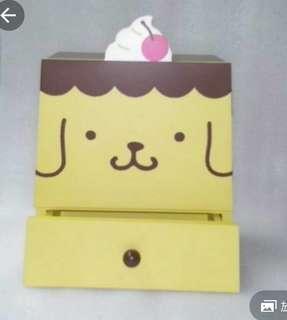罕有木制布甸大形飾物箱連櫃筒...