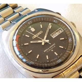 SEIKO BELL-MATIC 4006-6021 mechanical alarm watch (精工 BELL-MATIC 4006-6021機械响鬧錶)