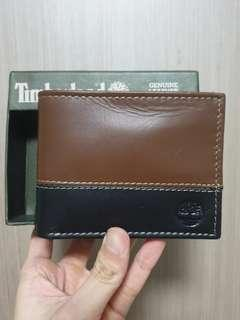 Authentic Timberland bifold Wallet with slight defect