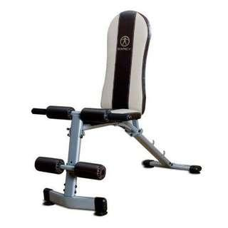 Marcy adjustable sit up/weights bench