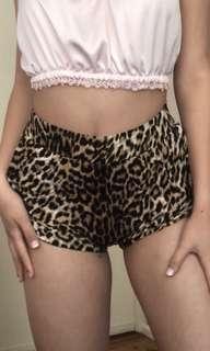 Bardot Leopard Print Shorts