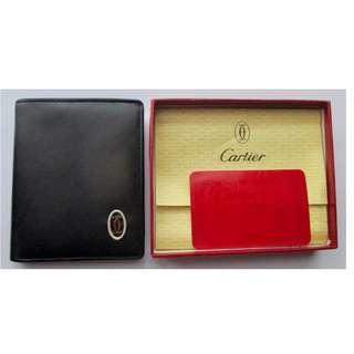 Vintage 80's Cartier Bifold Wallet