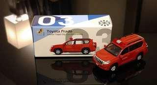 Tiny 微影限定商品 臺北市政府消防局 Toyota Prado