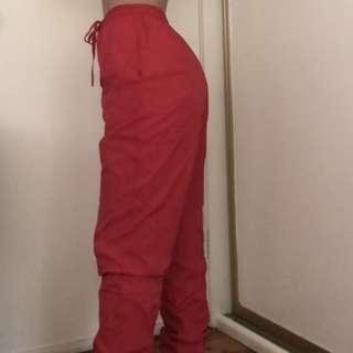 Red Trackpants