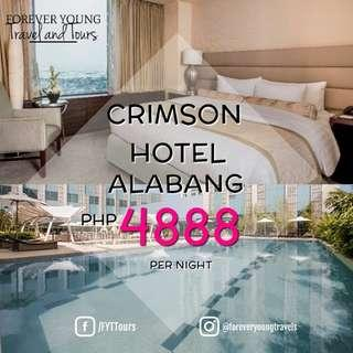 CRIMSON HOTEL STAYCATION