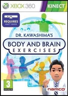 XBOX 360 DR. KAWASHIMA'S BODY AND BRAIN EXERCISES