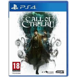 [NEW NOT USED] PS4 Call of Cthulhu: The Official Video Game Maximum RPG Games