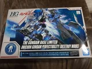 GUNDAM BASE LIMITED UNICORN GUNDAM PERFECTABILITY
