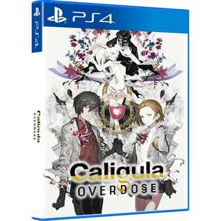 [NEW NOT USED] PS4 Caligula: Overdose H2 Interactive RPG Games