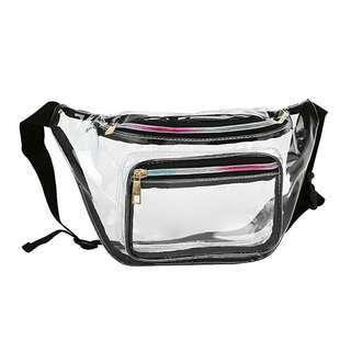 Transparent PVC Belt Bag fanny pack