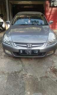 Honda accord vti tahun 2005 automatic