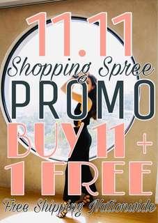 11.11 Flash Sale Promo
