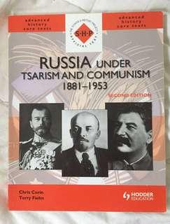 Russia Under Tsarism and Communism Year 12 Textbook