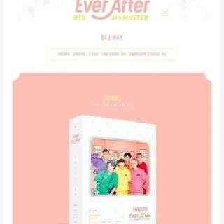 [DIRECT] BTS 4th Muster Happy Ever After (Blu-ray)