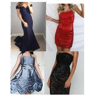 HIRE Formal/party/dresses/social